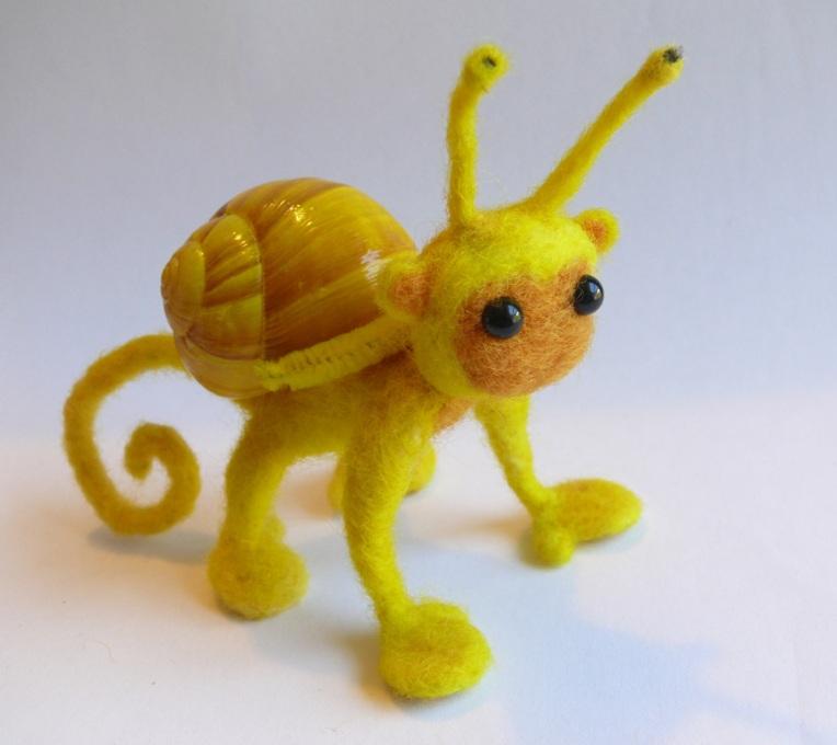 Banana Snonkey (snail-monkey)