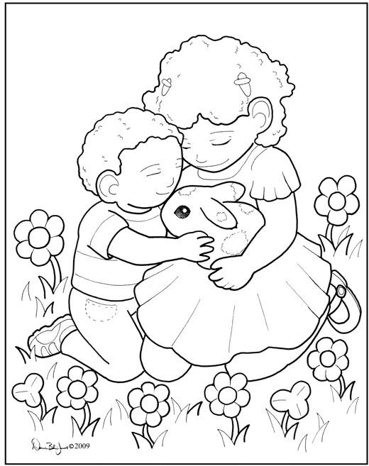 coloring pages acts of kindness - kindness coloring pages home sketch coloring page