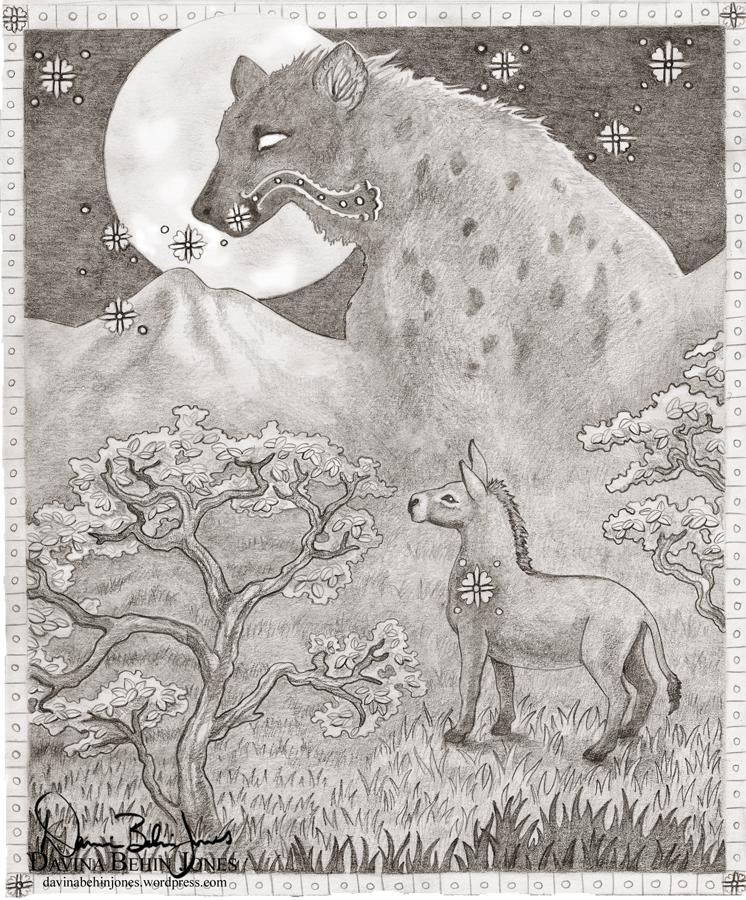 Donkey&Hyena_dA